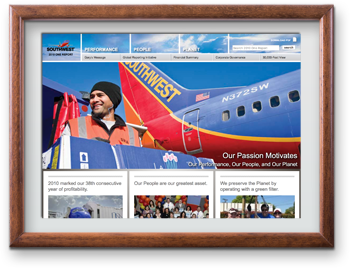 Southwest Airlines 2010 One Report