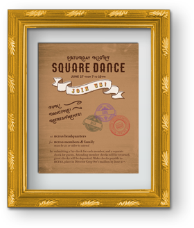 HCFAS Square Dance flyer